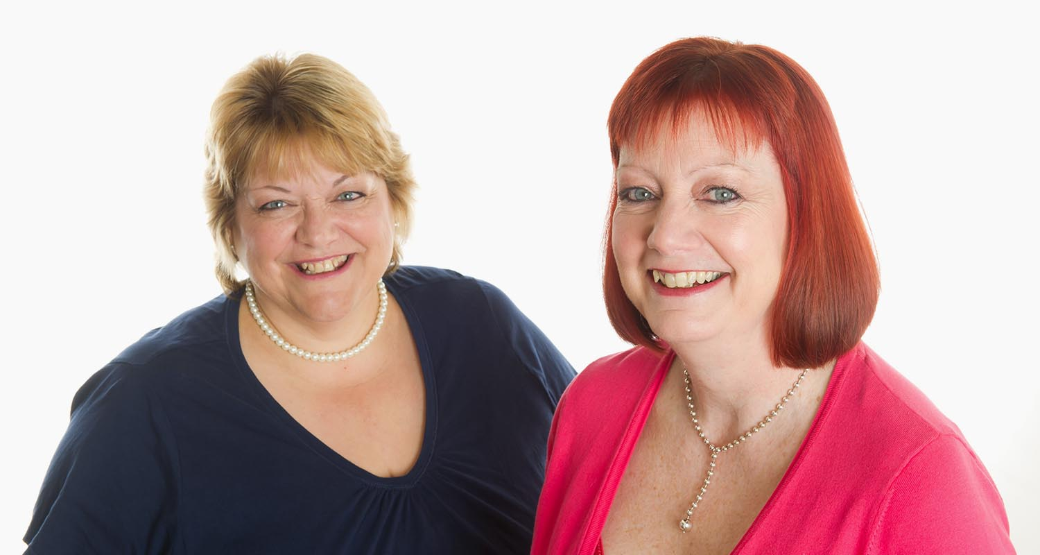 Julie Todd and Trish Grover, the two directors of Collaborate Communications Ltd