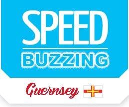 Speed buzzing guernsey logo