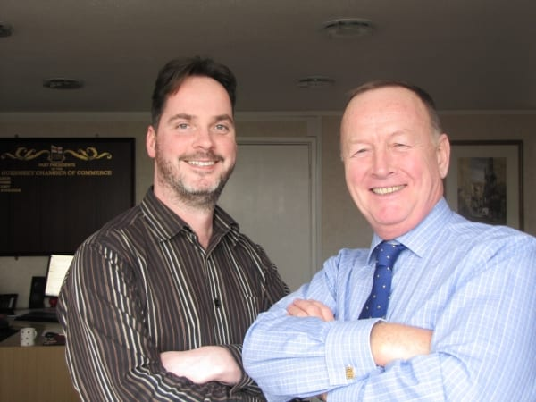 John O'Neill and Barry Cash 03-12-15